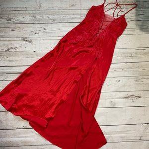 Victoria's Secret maxi satin long slip dress